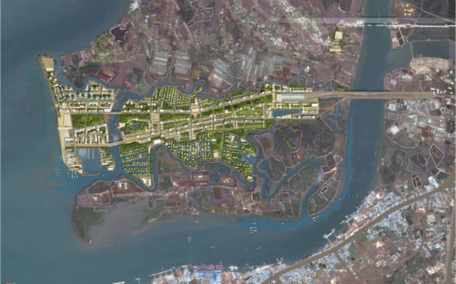 Quy hoạch xây dựng siêu đô thị 1.500ha trên đảo Gò Găng (TP Vũng Tàu) - Ảnh 1.
