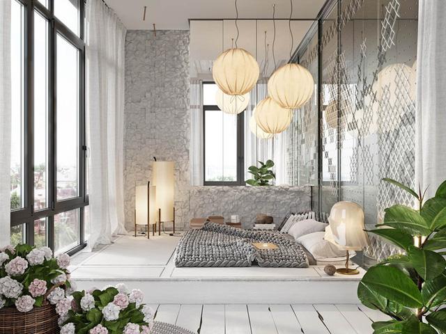 Phòng ngủ đẹp như tranh dành cho các cô gái - Ảnh 1.