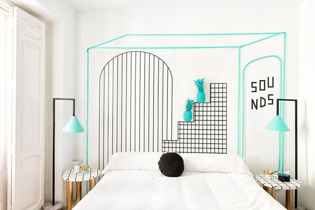 Phòng ngủ đẹp như tranh dành cho các cô gái - Ảnh 4.