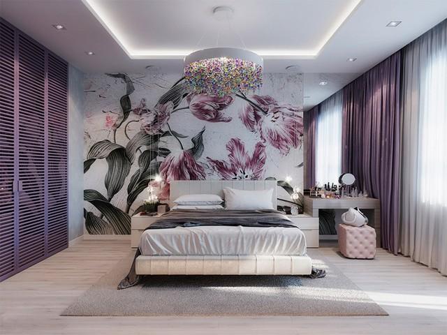 Phòng ngủ đẹp như tranh dành cho các cô gái - Ảnh 7.