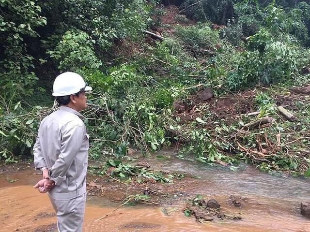 Sau Đắk Kar, Thủy điện Đắk Sin 1 gặp sự cố, đang bị cô lập - Ảnh 1.