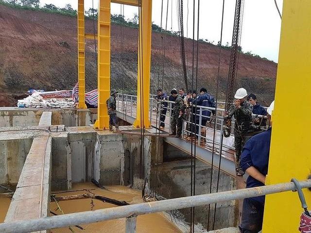 Sau Đắk Kar, Thủy điện Đắk Sin 1 gặp sự cố, đang bị cô lập - Ảnh 3.