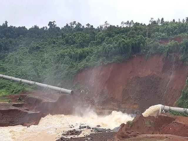 Sau Đắk Kar, Thủy điện Đắk Sin 1 gặp sự cố, đang bị cô lập - Ảnh 4.