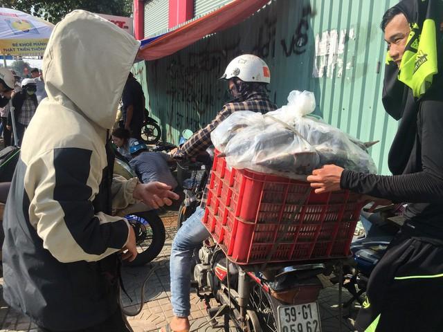 Người dân TP HCM chen nhau mua cá tầm bị ngộp nước - ảnh 15