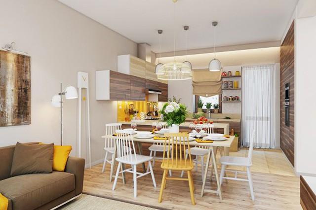 Ngắm những phòng ăn lịch lãm, mang phong cách hiện đại - Ảnh 2.