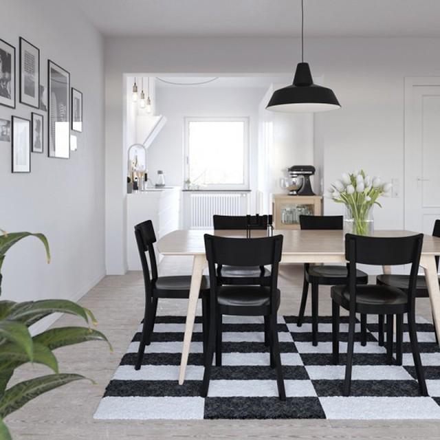 Ngắm những phòng ăn lịch lãm, mang phong cách hiện đại - Ảnh 3.