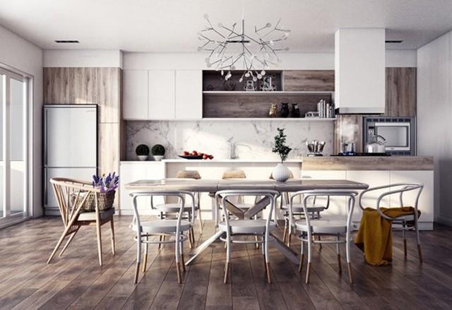 Ngắm những phòng ăn lịch lãm, mang phong cách hiện đại - Ảnh 5.