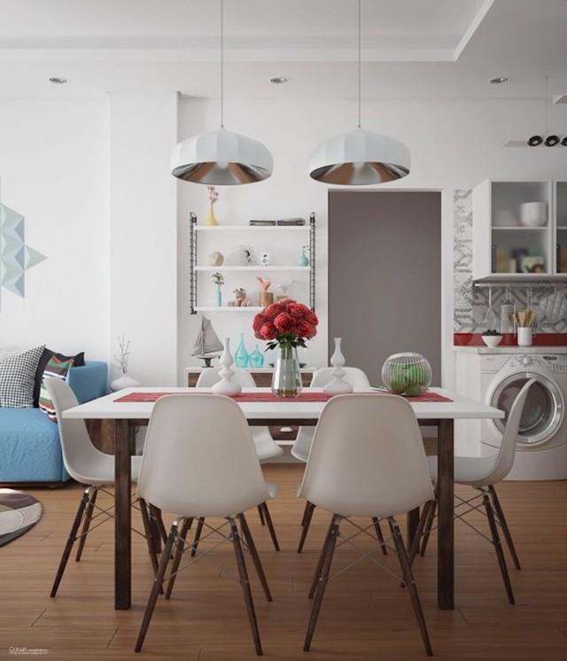 Ngắm những phòng ăn lịch lãm, mang phong cách hiện đại - Ảnh 7.