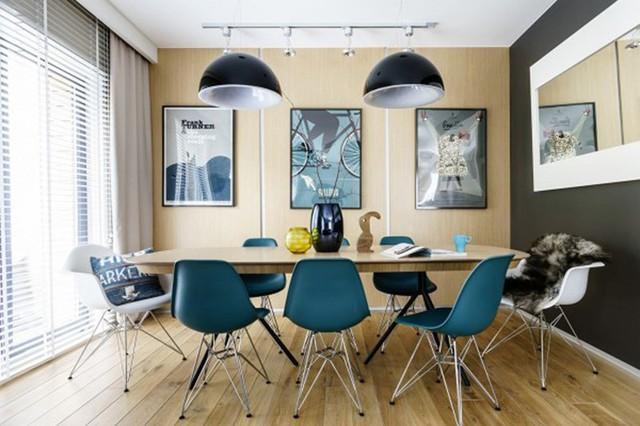 Ngắm những phòng ăn lịch lãm, mang phong cách hiện đại - Ảnh 8.