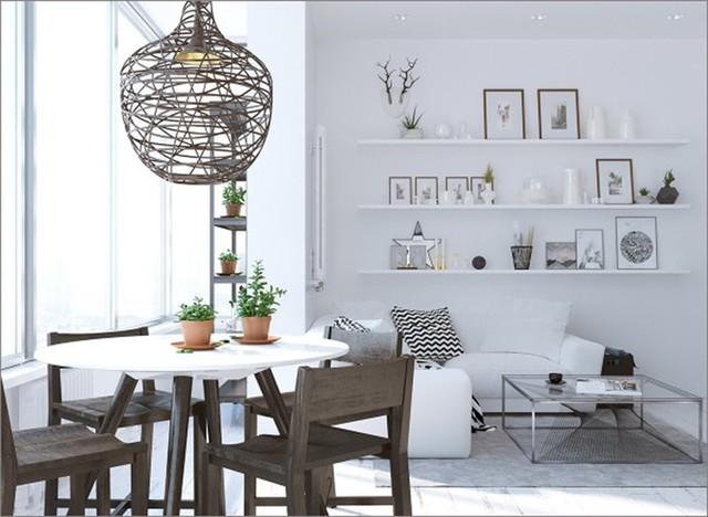 Ngắm những phòng ăn lịch lãm, mang phong cách hiện đại - Ảnh 9.
