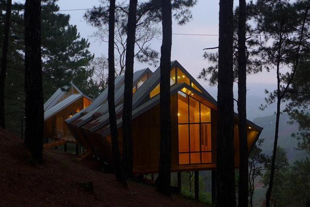 Nhà gỗ ghé lưng đồi, lãng mạn trong thung lũng trong sương Đà Lạt - Ảnh 9.