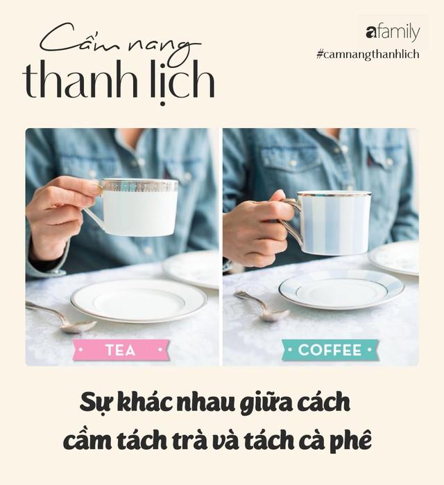 Uống trà, cà phê hay rượu vang nhiều, các nàng đã biết cách cầm cốc đúng cách sao cho thanh lịch chưa? - Ảnh 3.