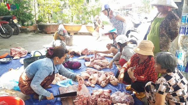 Tiền Giang: Lợn bệnh tả Châu phi chưa giảm, nhưng giá lợn gia tăng - Ảnh 1.