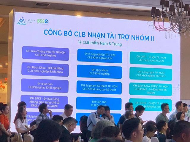 Vietnam Startup Day: 200 startup từ 11 nước thuyết trình trực tiếp, Vintech Fund thuộc Vingroup công bố đầu tư cho 14 CLB khởi nghiệp các trường đại học khu vực miền Nam - Ảnh 2.