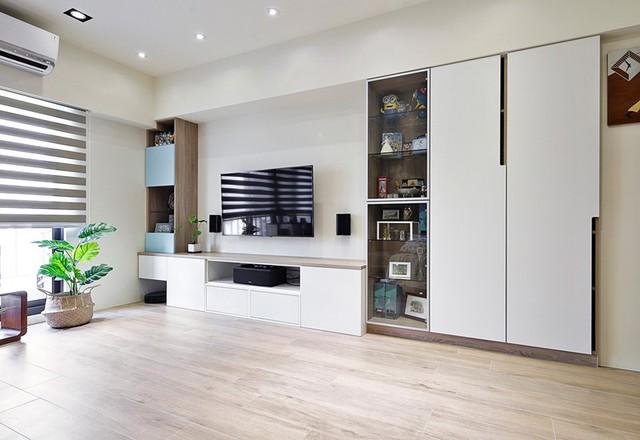 Tận hưởng căn hộ hiện đại, ngập tràn màu sắc - Ảnh 3.