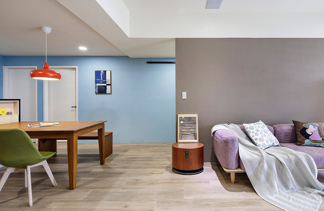 Tận hưởng căn hộ hiện đại, ngập tràn màu sắc - Ảnh 4.