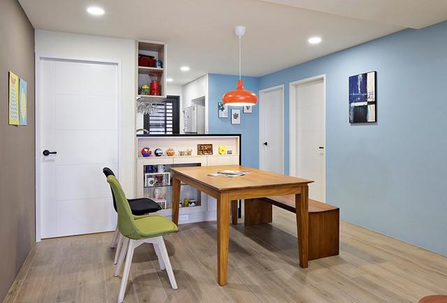 Tận hưởng căn hộ hiện đại, ngập tràn màu sắc - Ảnh 5.