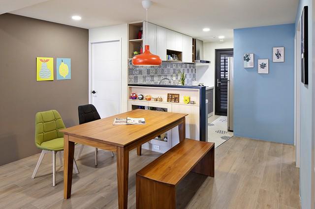Tận hưởng căn hộ hiện đại, ngập tràn màu sắc - Ảnh 6.