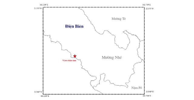 Động đất 2,8 độ richter khiến nhiều nhà dân ở Điện Biên rung lắc - Ảnh 1.