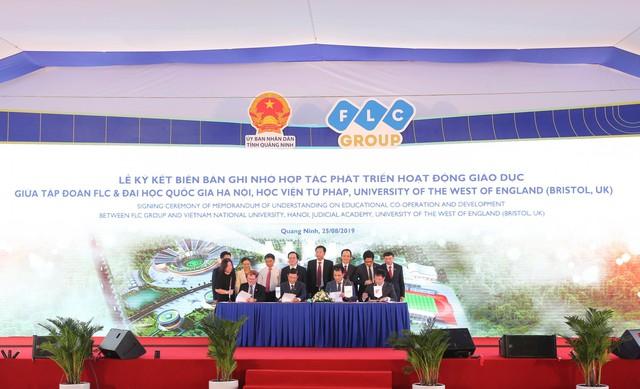 Khởi công khu đô thị đại học FLC, tỷ phú Trịnh Văn Quyết bước chân vào lĩnh vực giáo dục - Ảnh 5.