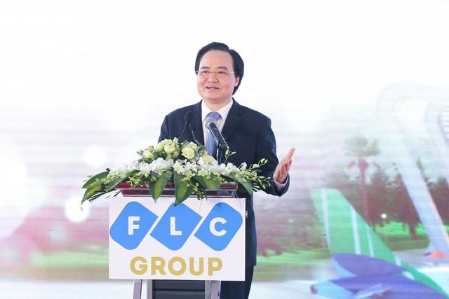Khởi công khu đô thị đại học FLC, tỷ phú Trịnh Văn Quyết bước chân vào lĩnh vực giáo dục - Ảnh 3.