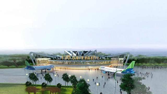 Khởi công khu đô thị đại học FLC, tỷ phú Trịnh Văn Quyết bước chân vào lĩnh vực giáo dục - Ảnh 1.