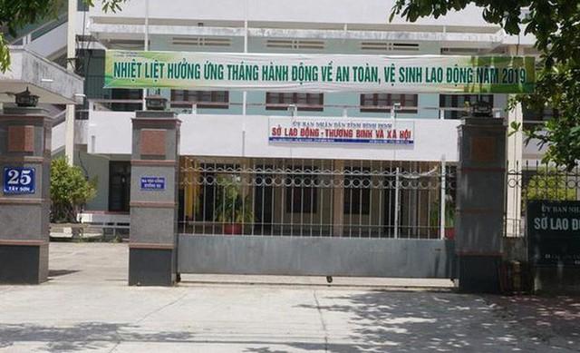 Bình Định: Đề nghị buộc thôi việc 1 phó giám đốc Sở - Ảnh 1.