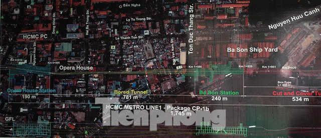 Cận cảnh đường hầm Metro số 1 dưới lòng Sài Gòn - Ảnh 2.