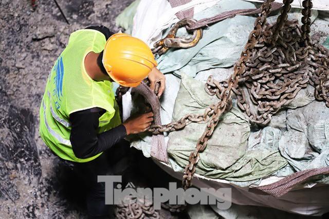 Cận cảnh đường hầm Metro số 1 dưới lòng Sài Gòn - Ảnh 13.