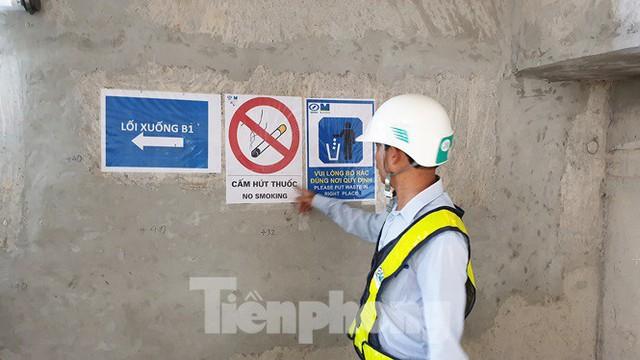 Cận cảnh đường hầm Metro số 1 dưới lòng Sài Gòn - Ảnh 4.