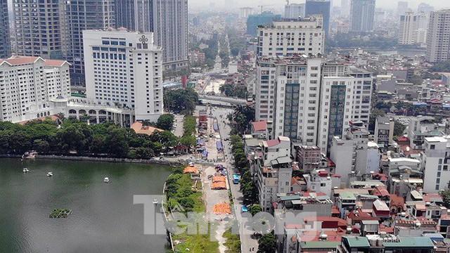 Hình hài đường sắt Nhổn - Ga Hà Nội sau 2 năm chậm tiến độ - Ảnh 4.