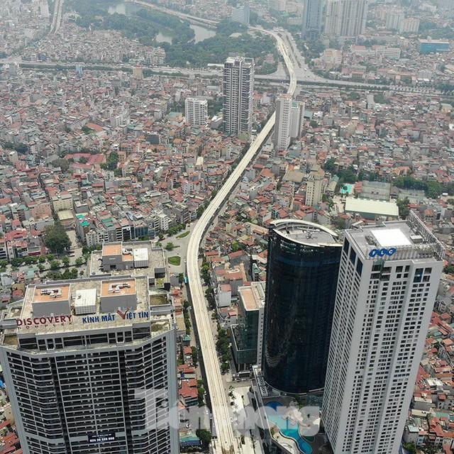 Hình hài đường sắt Nhổn - Ga Hà Nội sau 2 năm chậm tiến độ - Ảnh 5.