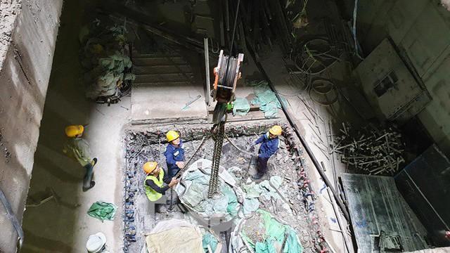 Cận cảnh đường hầm Metro số 1 dưới lòng Sài Gòn - Ảnh 7.