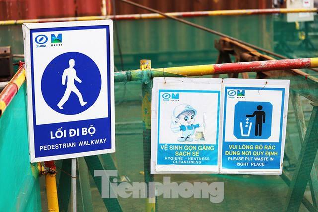 Cận cảnh đường hầm Metro số 1 dưới lòng Sài Gòn - Ảnh 8.