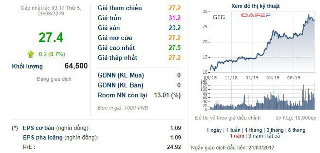 Gần 204 triệu cổ phiếu của Điện Gia Lai (GEG) đã được chấp thuận niêm yết trên HoSE - Ảnh 1.