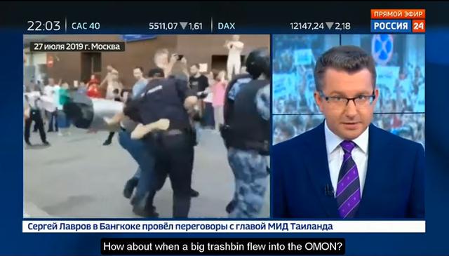 Biểu tình lớn ở Nga: Những hình ảnh sốc chưa từng xuất hiện trên mặt báo phương Tây tố cáo âm mưu đen tối? - Ảnh 2.