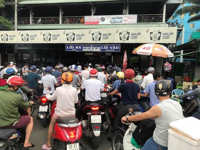 Cửa ngõ Sài Gòn đông nghẹt trước giờ nghỉ lễ Quốc khánh 2/9 - Ảnh 9.