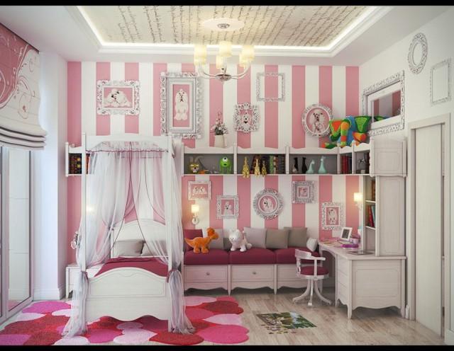 Những căn phòng khiến trẻ cảm thấy thích thú - Ảnh 1.