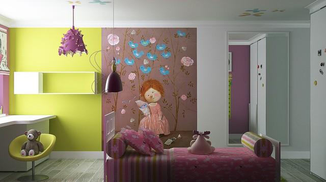 Những căn phòng khiến trẻ cảm thấy thích thú - Ảnh 2.