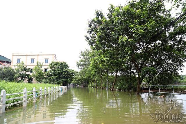 Cảnh khó tin của hàng trăm hộ dân Hà Nội sau 3 ngày mưa bão - Ảnh 4.