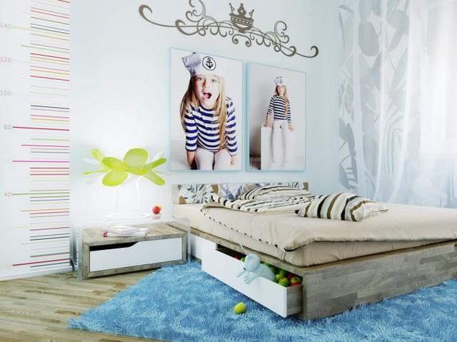 Những căn phòng khiến trẻ cảm thấy thích thú - Ảnh 6.