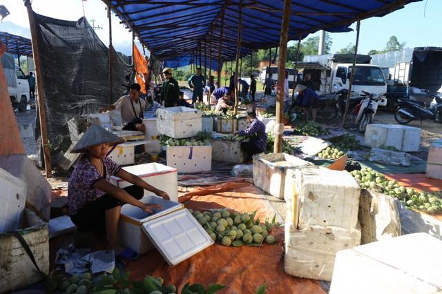Chợ na lớn nhất miền Bắc tấp nập vào mùa - Ảnh 4.