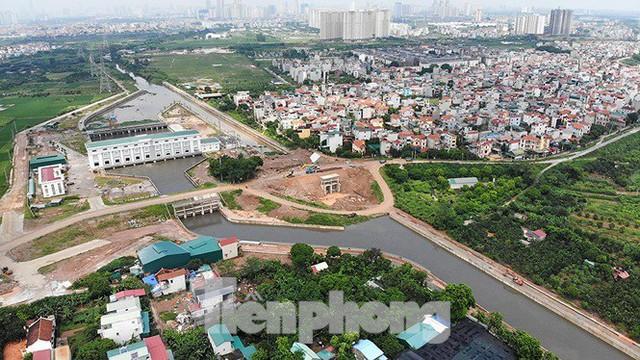 Nhìn gần trạm bơm tiêu Yên Nghĩa sau chuỗi ngày Hà Nội mưa không lối thoát - Ảnh 4.