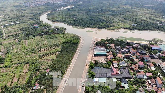 Nhìn gần trạm bơm tiêu Yên Nghĩa sau chuỗi ngày Hà Nội mưa không lối thoát - Ảnh 5.