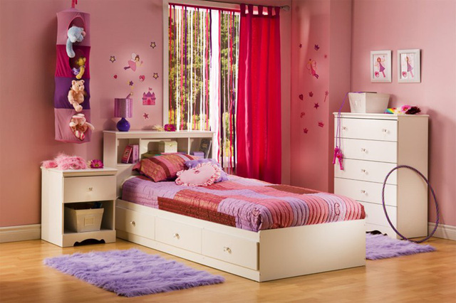 Ngắm những căn phòng độc đáo cho trẻ nhỏ với gam mầu ấn tượng - Ảnh 2.