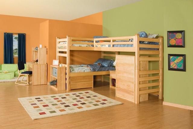 Ngắm những căn phòng độc đáo cho trẻ nhỏ với gam mầu ấn tượng - Ảnh 3.