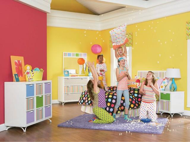 Ngắm những căn phòng độc đáo cho trẻ nhỏ với gam mầu ấn tượng - Ảnh 10.
