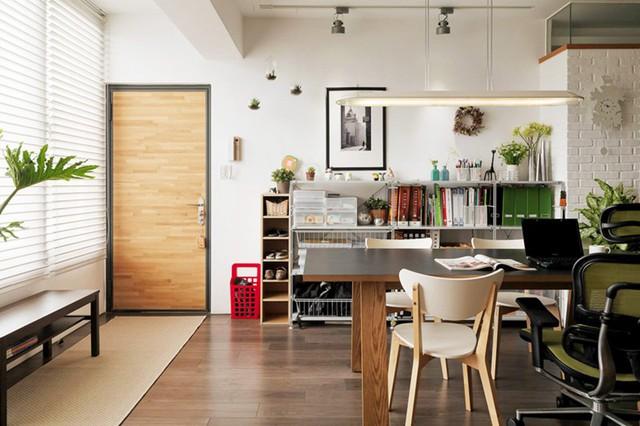 Căn hộ đẹp và lạ mắt của một kiến trúc sư tự thiết kế - Ảnh 1.