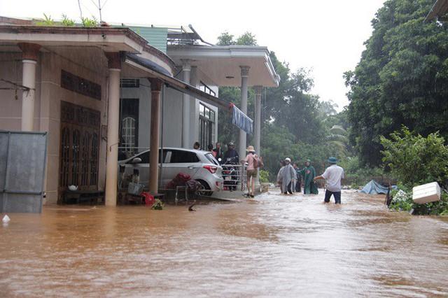 Mưa lớn kéo dài, Đắk Lắk ngập lụt diện rộng - Ảnh 2.