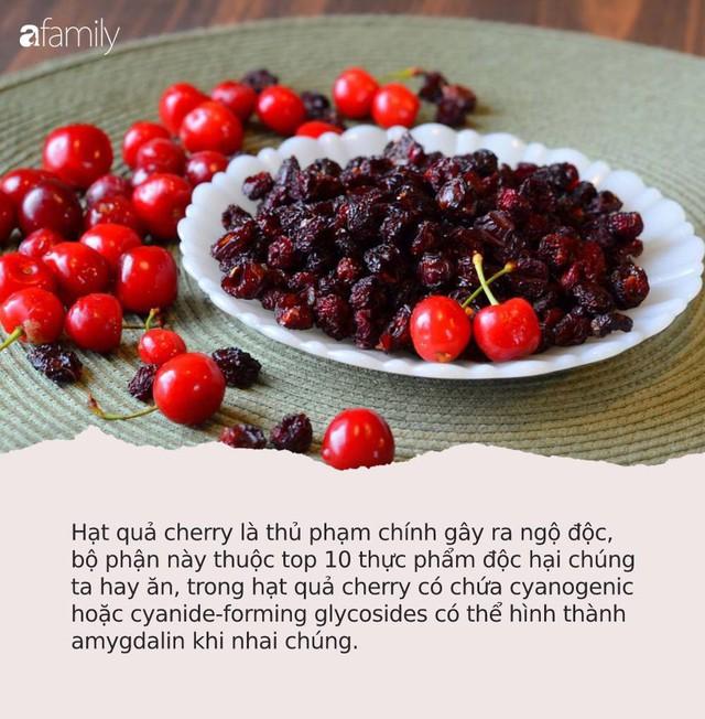 Cherry đang rẻ và có thể ngừa ung thư nhưng chị em mua ăn nhớ tránh 6 điều cấm kỵ này kẻo ngộ độc, thậm chí tử vong - Ảnh 2.